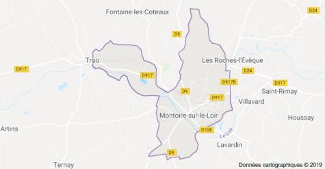 Carte Situation Montoire