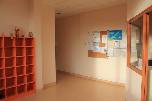 entrée de l'internat fille Collège-lycée Sainte-Cécile Montoire