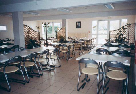 Vue interne du restaurant scolaire