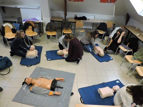 cours de formation au secourisme PSC1
