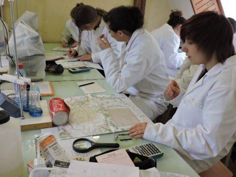 exercices pratiques au laboratoire